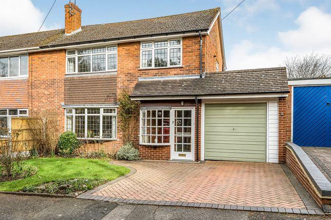 Thumbnail Semi-detached house for sale in Faulkner Close, Stourbridge
