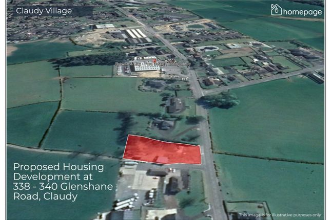 Thumbnail Land for sale in Housing Development, 338 - 340 Glenshane Road, Claudy