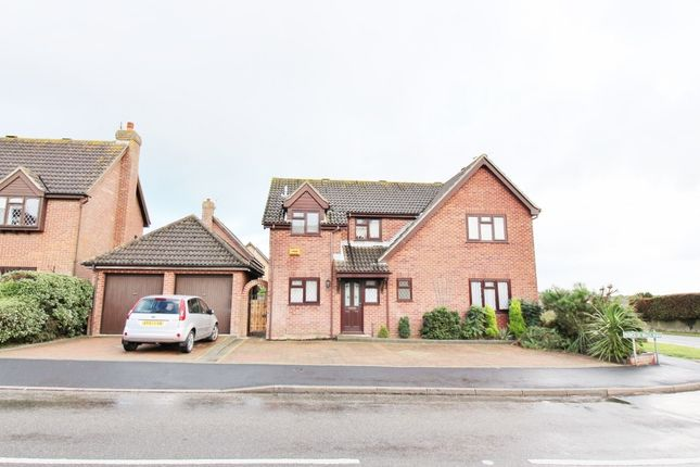 Thumbnail Detached house for sale in Prince Of Wales Road, Caister-On-Sea