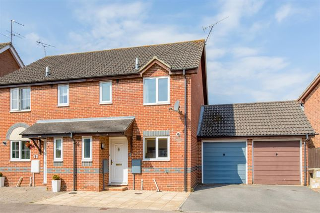 Thumbnail Semi-detached house for sale in Woolven Close, Burgess Hill