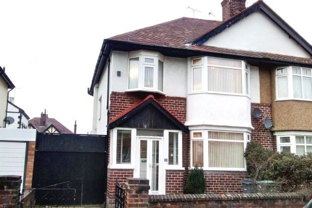 Thumbnail Semi-detached house to rent in Vyner Road, Wallasey