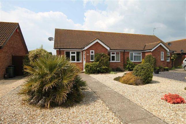 Thumbnail Semi-detached bungalow for sale in Saffron Drive, Highcliffe, Christchurch, Dorset