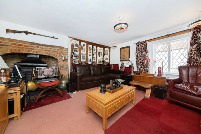 Thumbnail End terrace house for sale in Church Lane, Barkway, Royston
