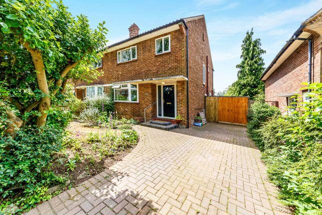 Thumbnail Semi-detached house for sale in Bowershott, Letchworth Garden City