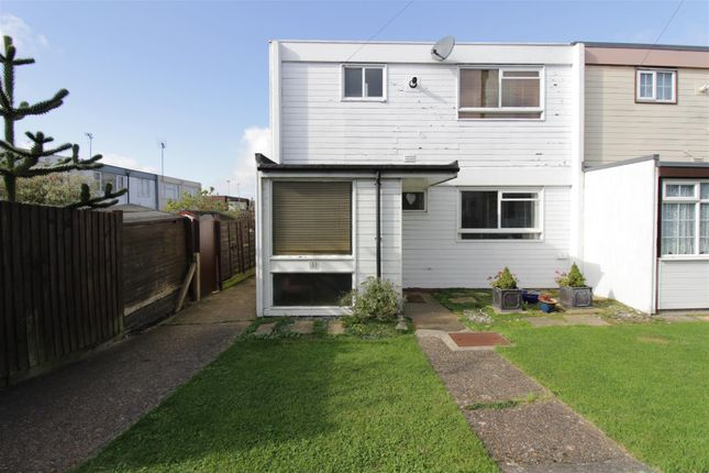 Thumbnail End terrace house for sale in Clifton Walk, Benfleet