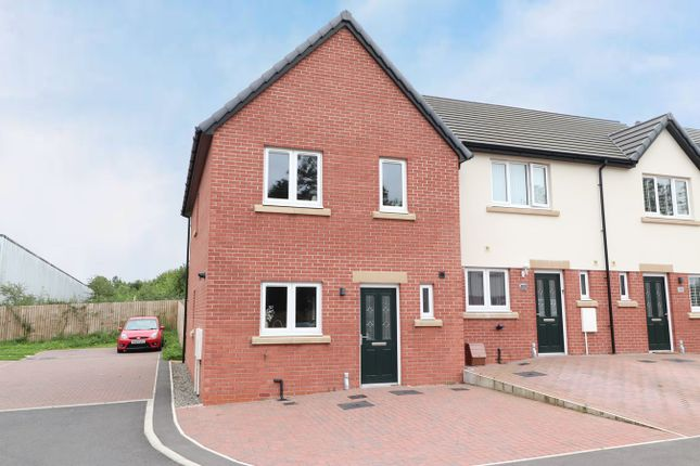 Thumbnail End terrace house for sale in Dale Meadows, Cummersdale, Carlisle