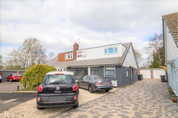 Thumbnail Semi-detached house for sale in Avon Close, Bulkington, Bedworth, Warwickshire
