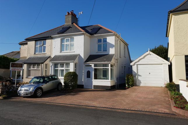 Thumbnail Semi-detached house for sale in Barton Road, Tiverton