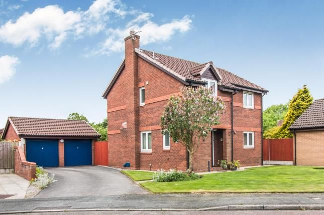 Thumbnail Detached house for sale in Perth Close, Fearnhead, Warrington, Cheshire