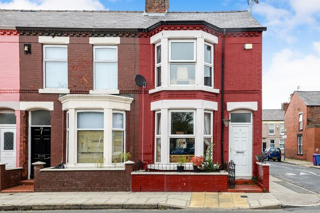 Thumbnail End terrace house for sale in Pearson Court, Prince Alfred Road, Wavertree, Liverpool