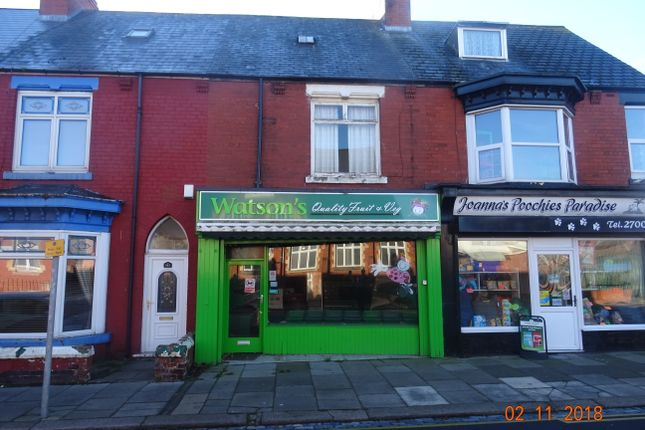 Thumbnail Retail premises for sale in 145 Elwick Road, Hartlepool