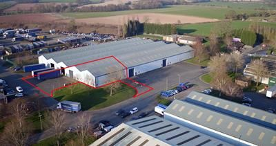 Thumbnail Light industrial to let in Unit 3 & 5, Building 341, Rushock Trading Estate, Kidderminster Road, Droitwich, Worcestershire