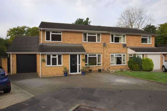 Thumbnail Semi-detached house for sale in Randell Close, Hawley