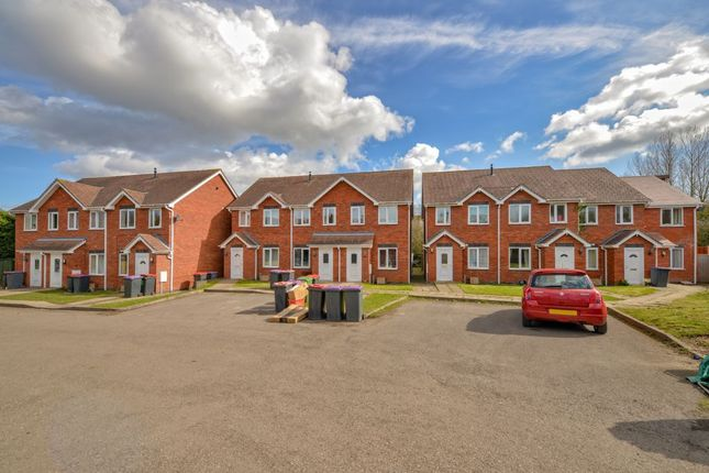 Thumbnail Terraced house for sale in Lodge Court, Donnington