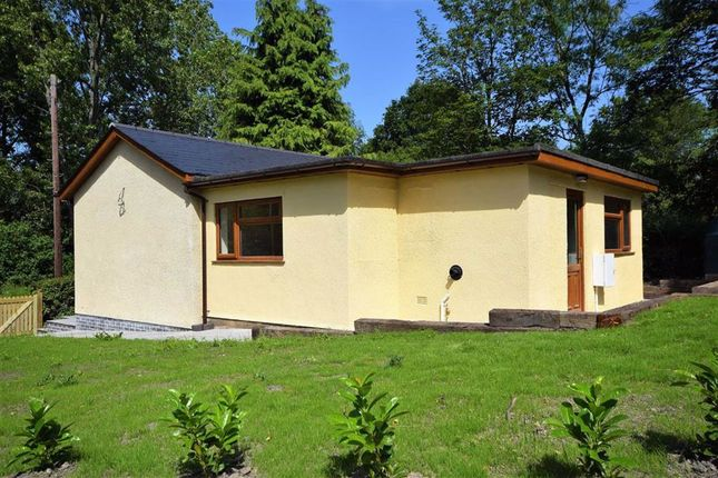 Thumbnail Bungalow for sale in West Grove, Crossgates, Llandrindod Wells, Powys