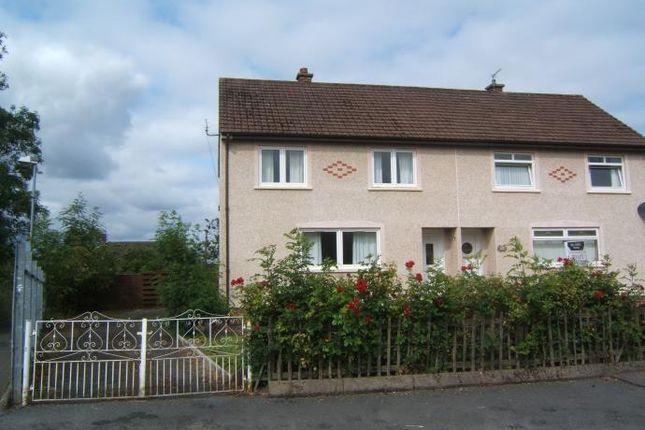 Thumbnail Semi-detached house to rent in Auldhame Street, Coatbridge