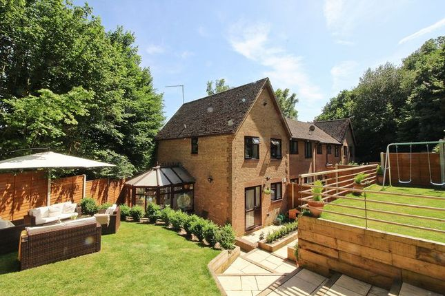 Thumbnail Terraced house for sale in Essex Close, Frimley, Camberley