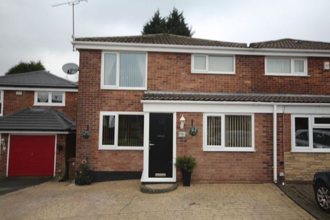 Thumbnail Semi-detached house for sale in Overdell Drive, Shawclough, Rochdale