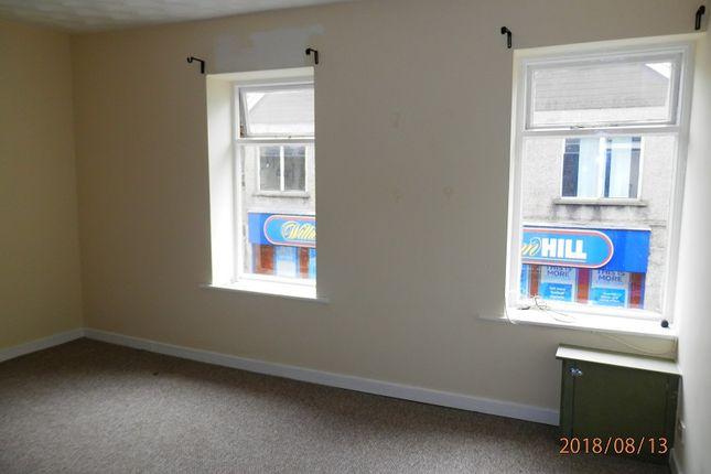 Thumbnail Flat to rent in Hannah Street, Porth, Rhondda Cynon Taff.