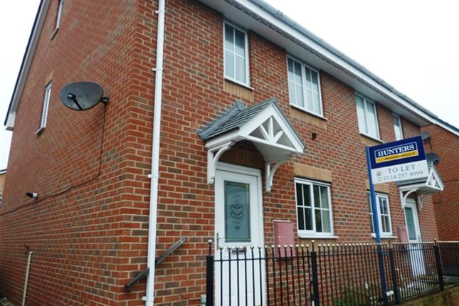 Thumbnail Semi-detached house to rent in Hope Street, Wombwell, Barnsley
