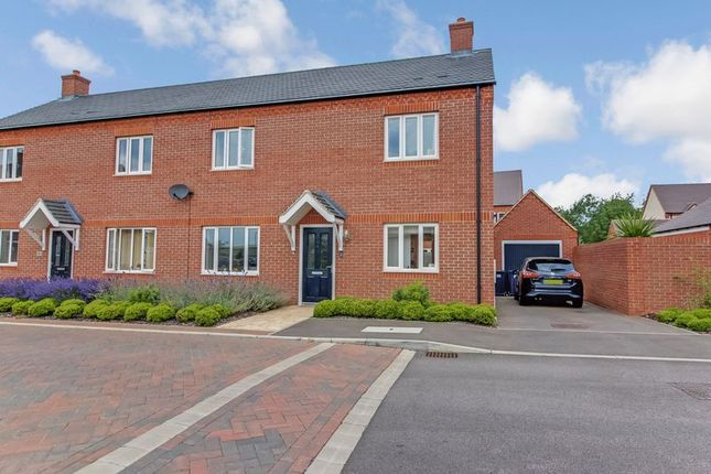 Thumbnail Semi-detached house for sale in Whinfell Close, Eaton Socon, St. Neots