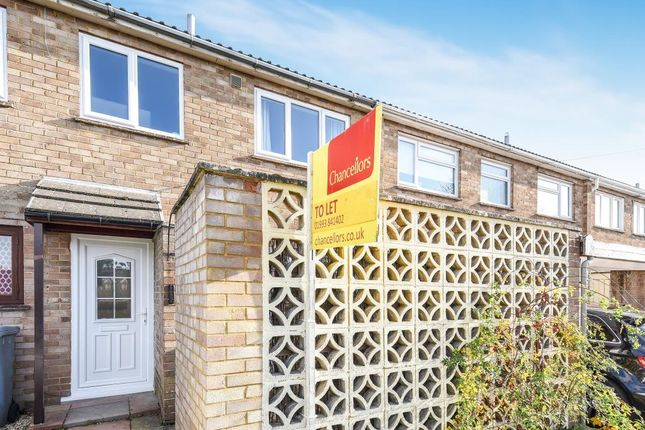 Thumbnail Terraced house to rent in Corbett Road, Carterton