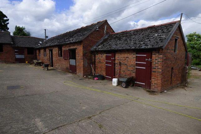 Thumbnail Barn conversion for sale in Weston Lullingfields, Shrewsbury