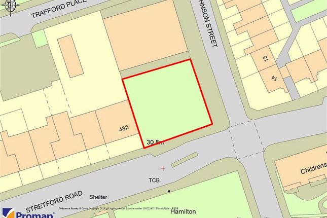 Thumbnail Land for sale in Stretford Road, Oid Trafford, Manchester