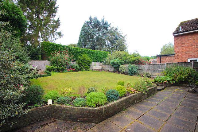 Rear Garden of Lime Grove, Kirby Muxloe, Leicester LE9