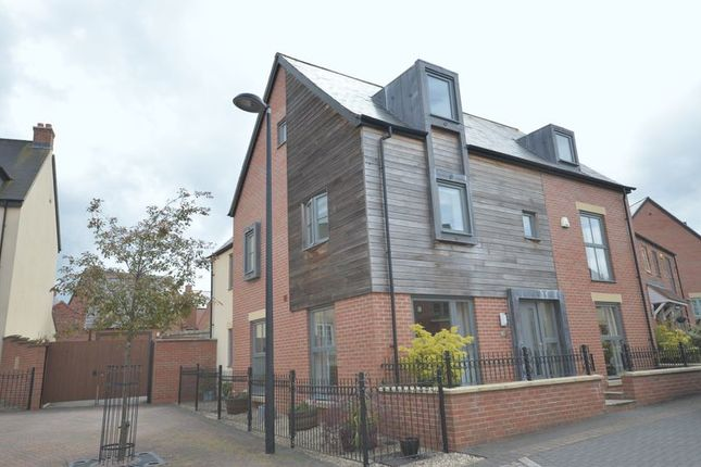 Thumbnail Detached house for sale in St. Johns Walk, Lawley, Telford, Shropshire.