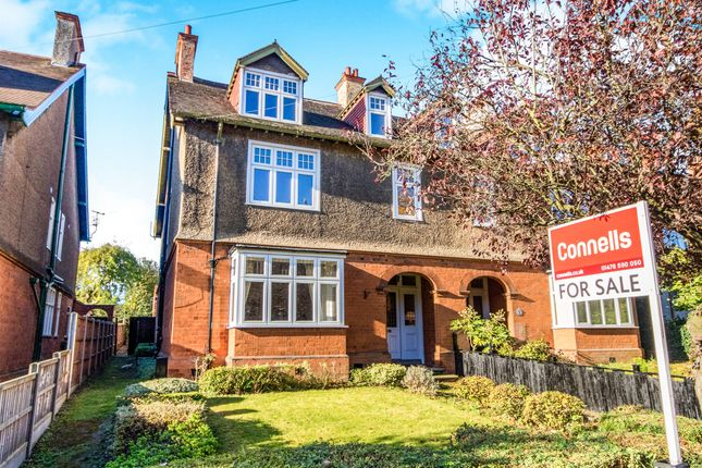 Thumbnail Semi-detached house for sale in North Parade, Grantham