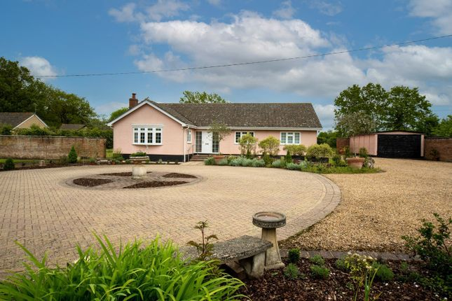 4 bed detached bungalow for sale in Hall Road, Bedingfield, Eye IP23