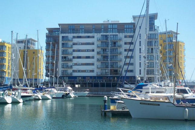 Thumbnail Flat to rent in Fiador Court, Midway Quay, Eastbourne