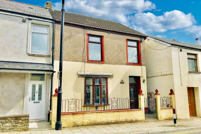 Thumbnail End terrace house to rent in High Street, Rhymney, Tredegar