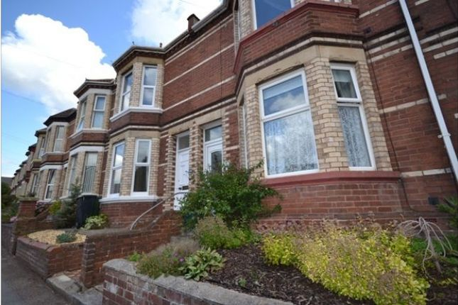 Thumbnail Terraced house to rent in Barrack Road, Exeter