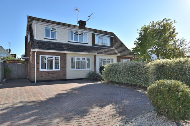 Thumbnail 4 bed semi-detached house for sale in Gilmore Way, Chelmsford