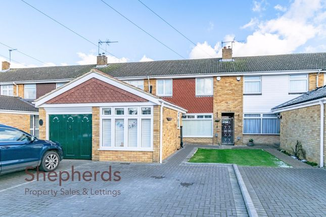 Thumbnail Terraced house for sale in Ousden Close, Cheshunt, Hertfordshire