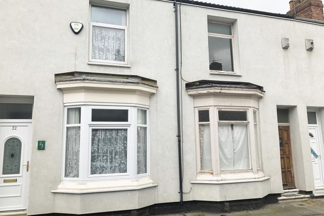 Thumbnail Terraced house for sale in Stowe Street, Middlesbrough