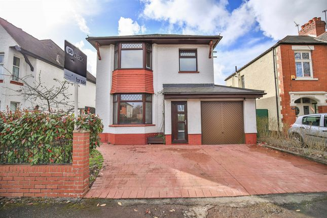 Thumbnail Detached house for sale in Pantbach Road, Whitchurch, Cardiff