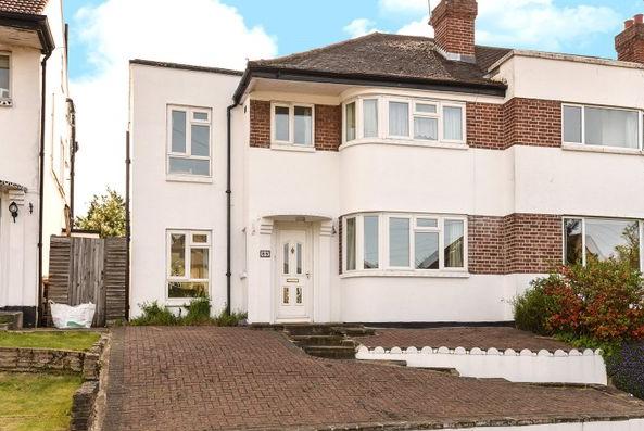 Thumbnail Semi-detached house to rent in Harefield Road, Uxbridge
