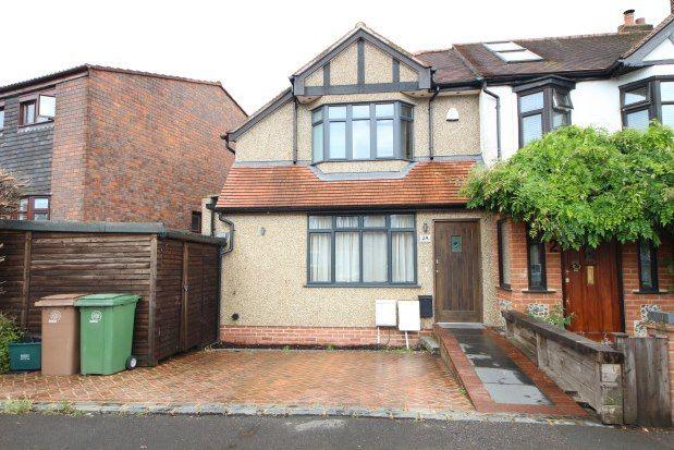 Thumbnail Property to rent in Birchwood Avenue, Wallington