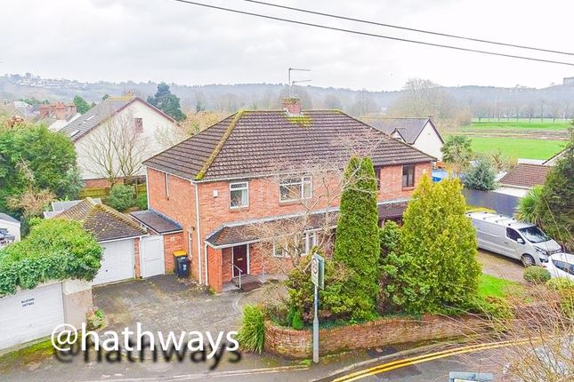 Thumbnail Semi-detached house for sale in Cold Bath Road, Caerleon Village, Newport