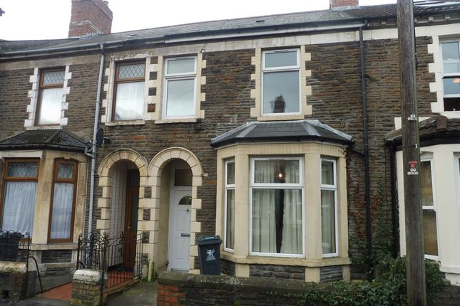 Thumbnail Terraced house for sale in Mackintosh Place, Roath, Cardiff