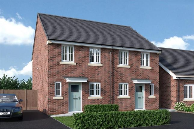 "Semi-detached house for sale in ""Burroughs"" at Back Lane, Somerford, Congleton"