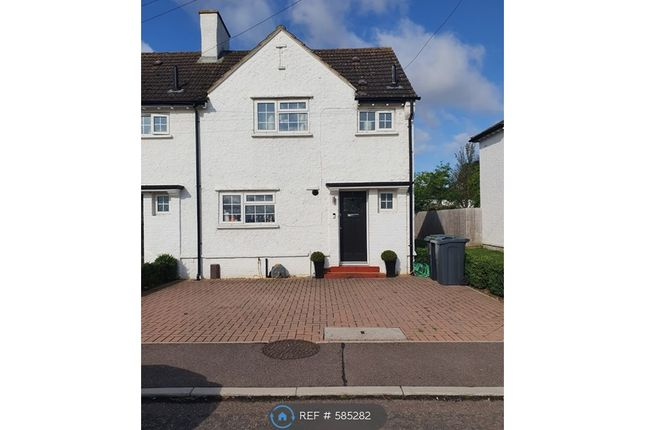 Thumbnail End terrace house to rent in Derwent Road, Henlow
