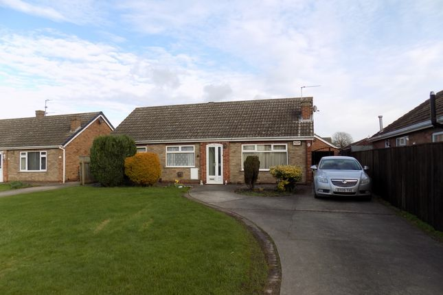 Thumbnail Detached bungalow for sale in Hume Brae, Immingham