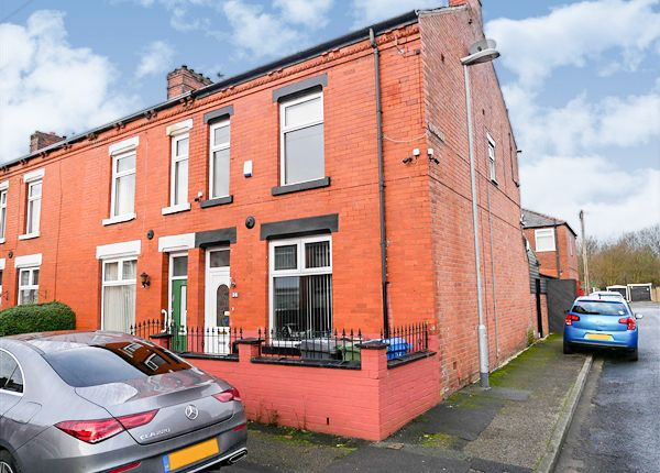 Thumbnail End terrace house for sale in Mather Street, Failsworth, Manchester