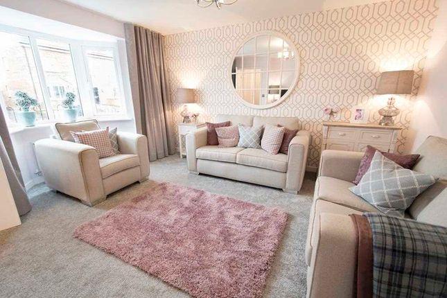 Thumbnail Semi-detached house for sale in The Buchanan, Ravenscraig, The Castings, Meadowhead Road, Ravenscraig, Wishaw