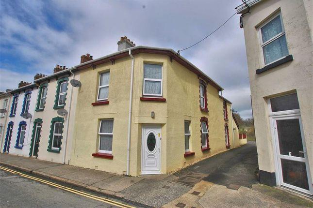 Thumbnail End terrace house for sale in Northfield Road, Okehampton