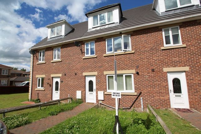 Thumbnail Terraced house to rent in Kingfisher Close, Esh Winning, Durham